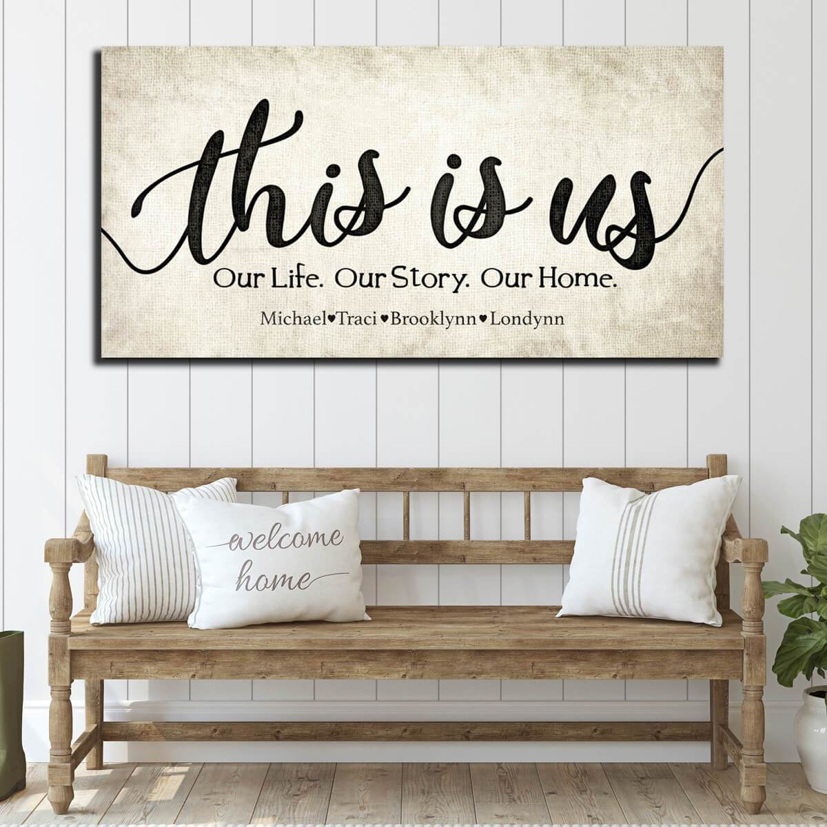 This Is Us Custom Family Names - Personalized