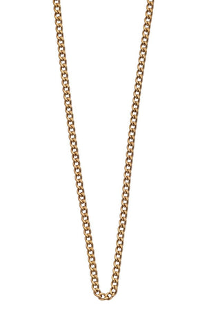 LONG NECKLACE CHAIN 22-25 - GOLD  | Mocha | Australian Based Jewellery, Bags & Accessories