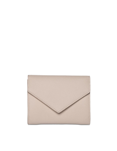 Mocha Envelop Leather Coin Wallet - Blush - Mocha