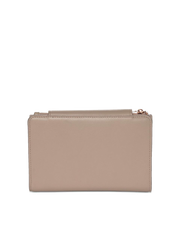 Mocha Brianna Leather Wallet - Taupe - Mocha