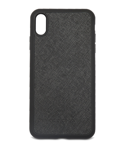Mocha Jane Leather Hard Case For iPhone XS Max - Black - Mocha