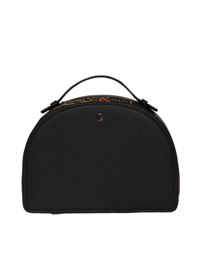 Mocha Large Kaia Jewellery Case - Black - Mocha