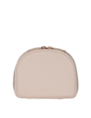 Mocha Small Kaia Jewellery Case - Blush - Mocha