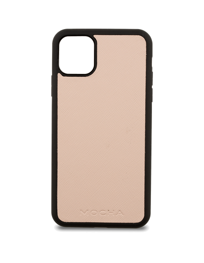 Mocha Jane Leather Hard Case For iPhone 11 Pro - Blush - Mocha
