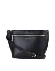 Mocha Jamie Crossbody Bag - Black - Mocha