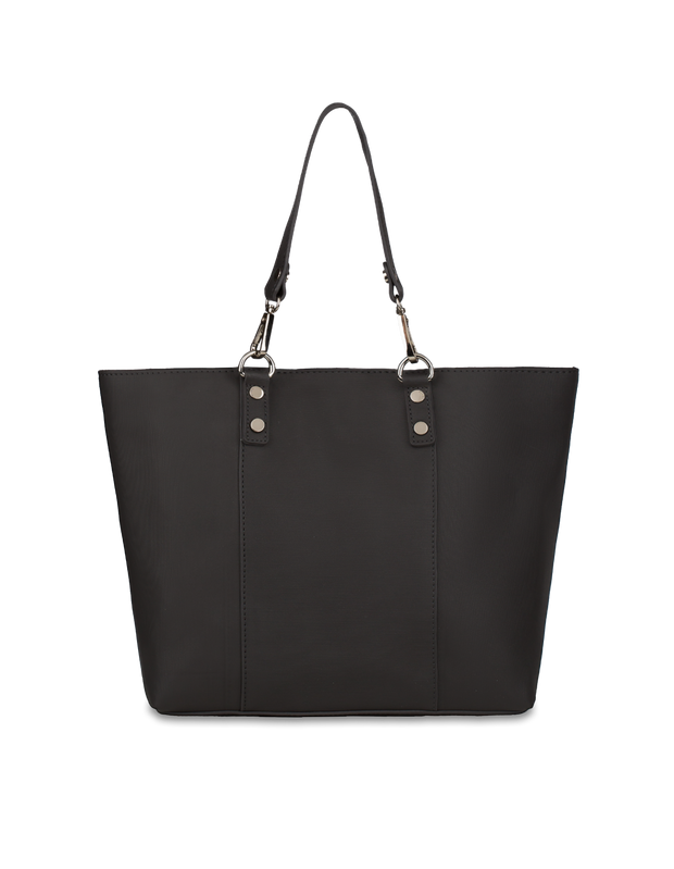 Mocha Samantha Small Tote Bag - Black - Mocha