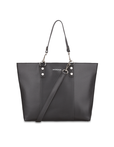 Mocha Samantha Small Tote Bag - Grey - Mocha