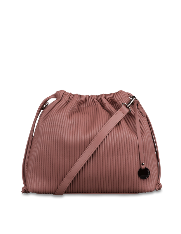 Mocha Angela Bucket Bag - Mauve - Mocha