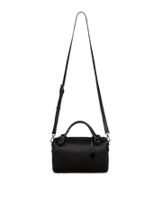 Mocha Angela Boston Bag - Black - Mocha