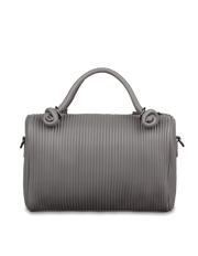 Mocha Angela Boston Bag - Grey - Mocha