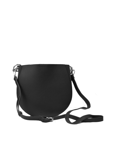 Mocha Millie Saddle Bag - Black - Mocha