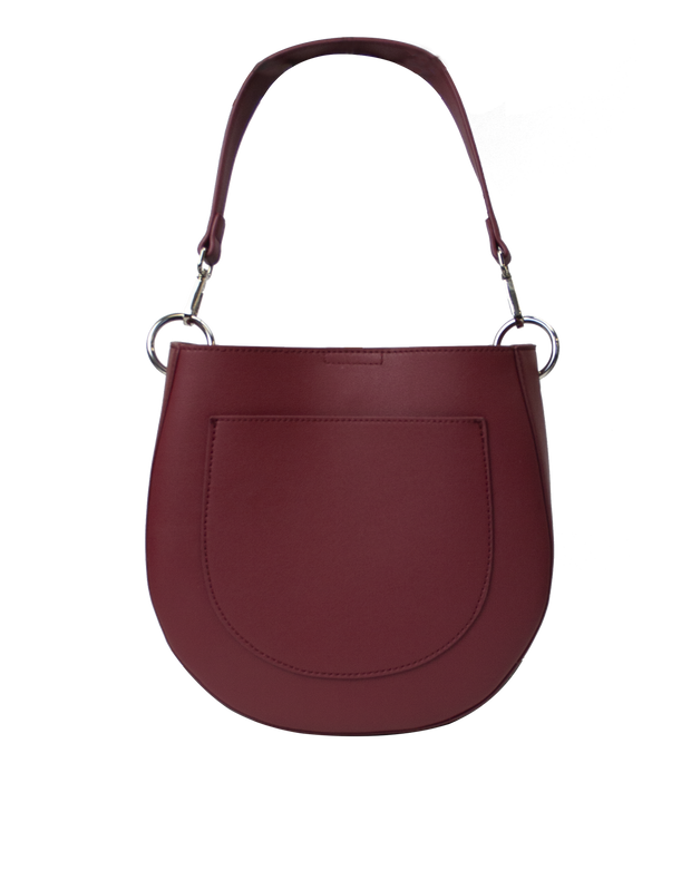Mocha Millie Saddle Bag - Rouge - Mocha