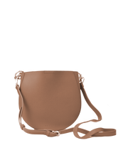 Mocha Millie Saddle Bag - Taupe - Mocha