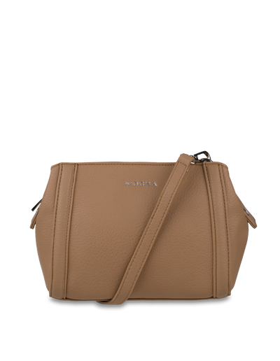 Mocha Renee Crossbody Bag - Taupe - Mocha