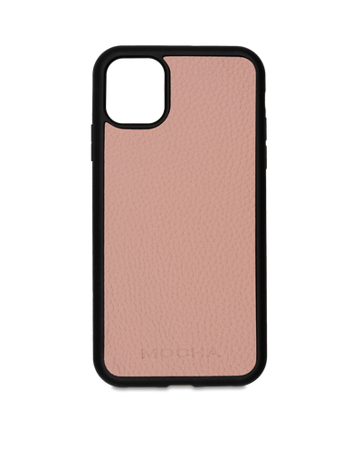 Mocha Limited Edition Pebble Leather Case For iPhone 11 Pro - Flamingo
