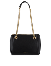 Mocha Josephine Chain Crossbody - Black - Mocha