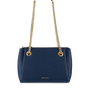 Mocha Josephine Chain Crossbody - Navy