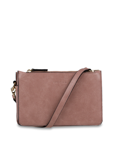 Mocha Callie Camera Bag - Light Mauve - Mocha
