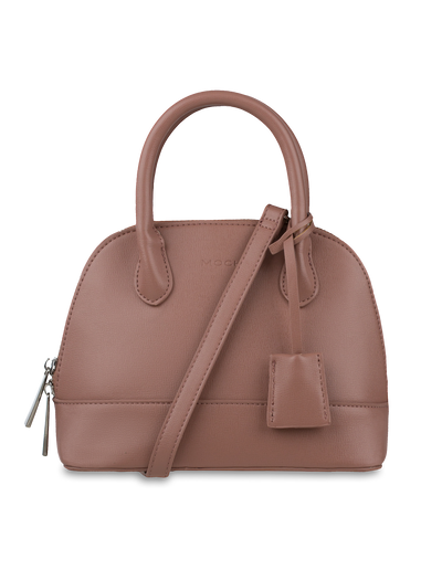 Mocha Cecilia Top-Handle Crossbody Bag - Light Mauve - Mocha