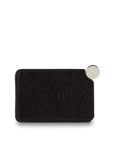 Mocha Mirror With Leather Sleeve - Black - Mocha