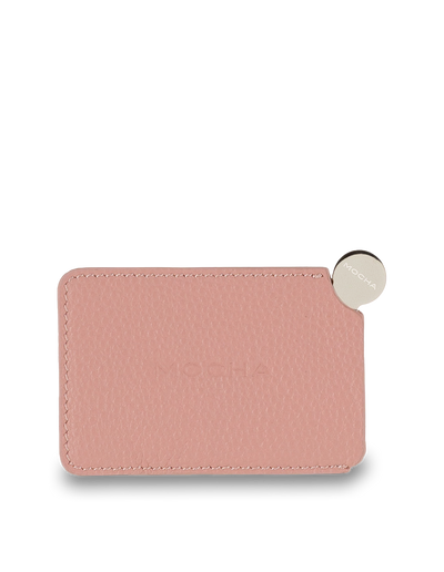 Mocha Mirror with Leather Sleeve - Flamingo - Mocha