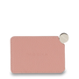 Mocha Mirror with Leather Sleeve - Flamingo