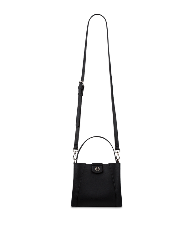 Mocha Dora Mini Bucket Bag - Black - Mocha