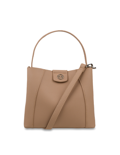 Mocha Dora Mini Bucket Bag - Sand - Mocha