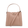 Mocha Dora Mini Bucket Bag - Blush