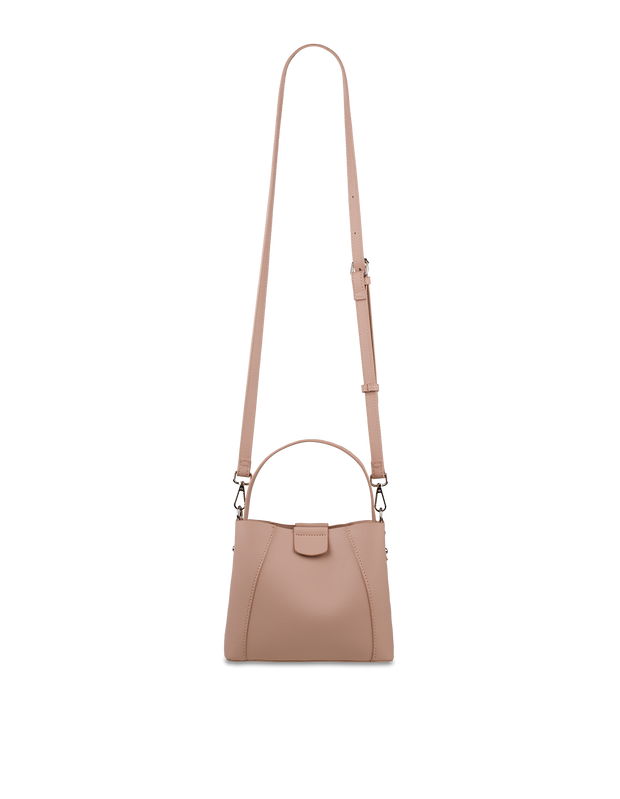 Mocha Dora Mini Bucket Bag - Blush - Mocha