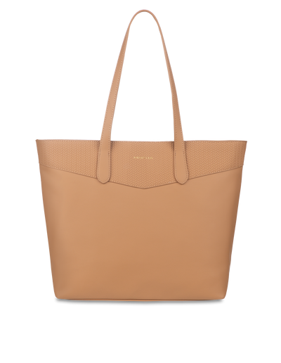 Mocha Braidy Tote Bag - Tan - Mocha