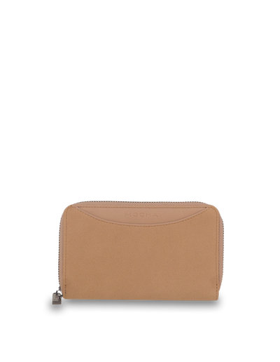 Mocha Taylor Suede Small Wallet - Taupe - Mocha