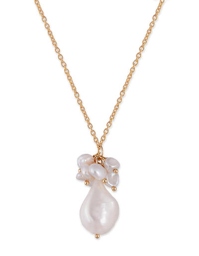 Bianc Mermaid Necklace w/ Freshwater Pearl