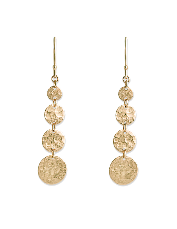 Bianc Bon Bon Jingle Hook Earrings - Gold - Mocha
