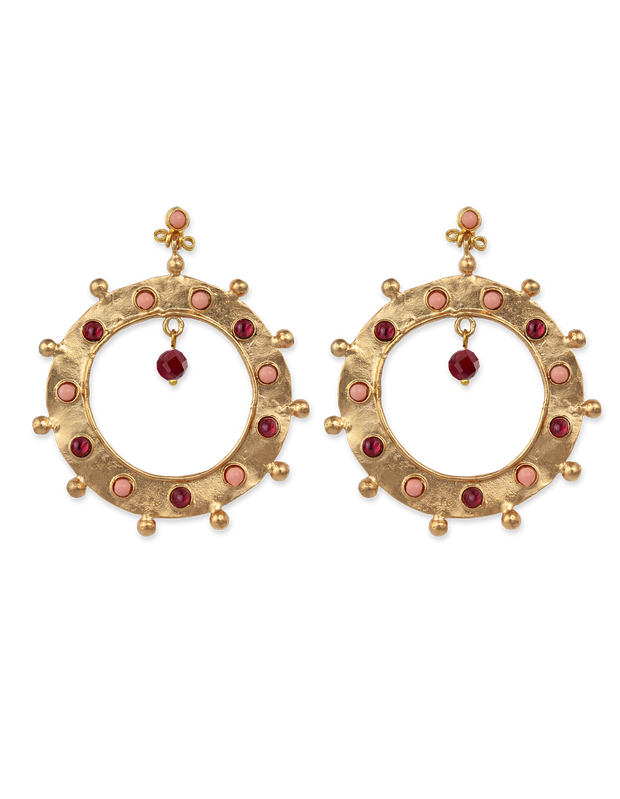 Bianc Boheme Elizabeth Earrings - Mocha