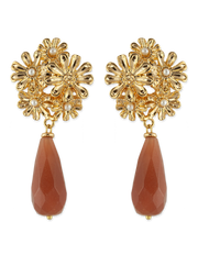 Bianc Jordan Earrings - Mocha