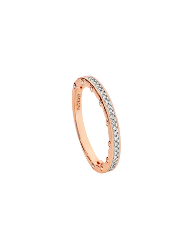 Georgini Vento Ring - Rose Gold - Mocha