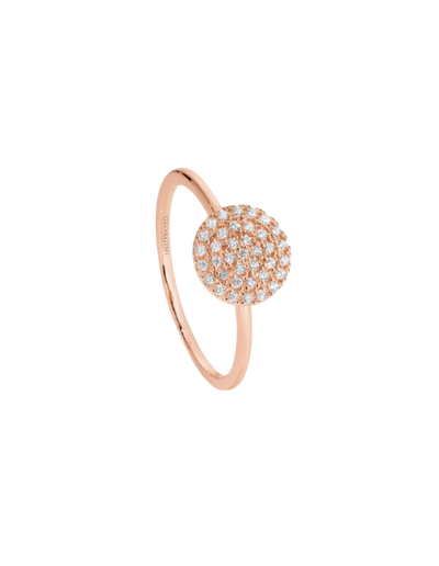 Georgini Pavo Ring - Rose Gold - Mocha