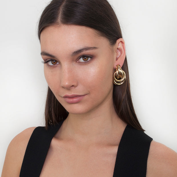 Zahar Avery Earrings - Mocha