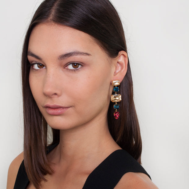 Zahar Bridgitte Earrings - Mocha