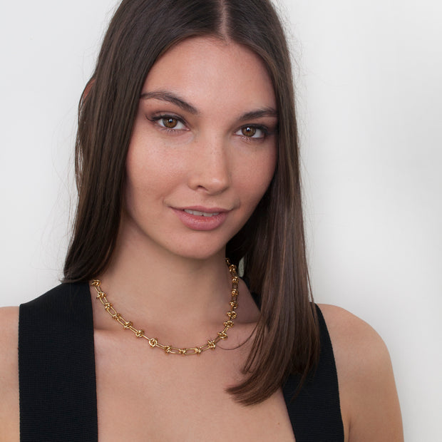 Zahar Luna Necklace - Mocha