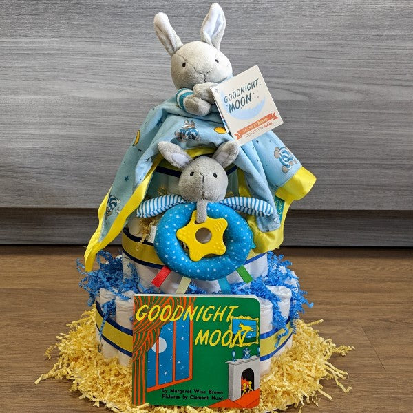 Diaper Cake Goodnight Moon Large