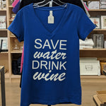 Shirt Women's Save Water