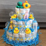 Diaper Cake Bath Time Large