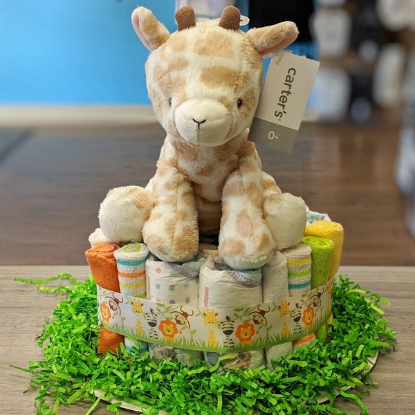 Diaper Cake Safari Small