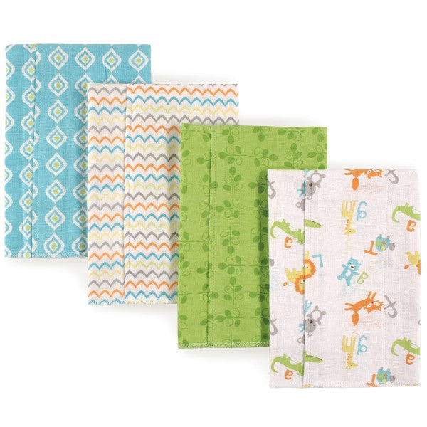 Burp Cloth ABC 4-Pack