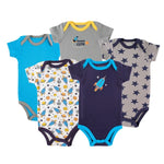 Bodysuits Rocket 5-Pack 0-3 mo