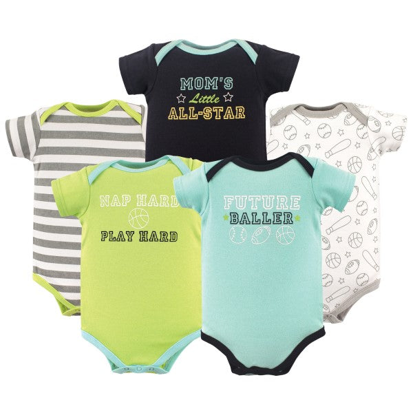 Bodysuits Future Baller 5-Pack 0-3 mo