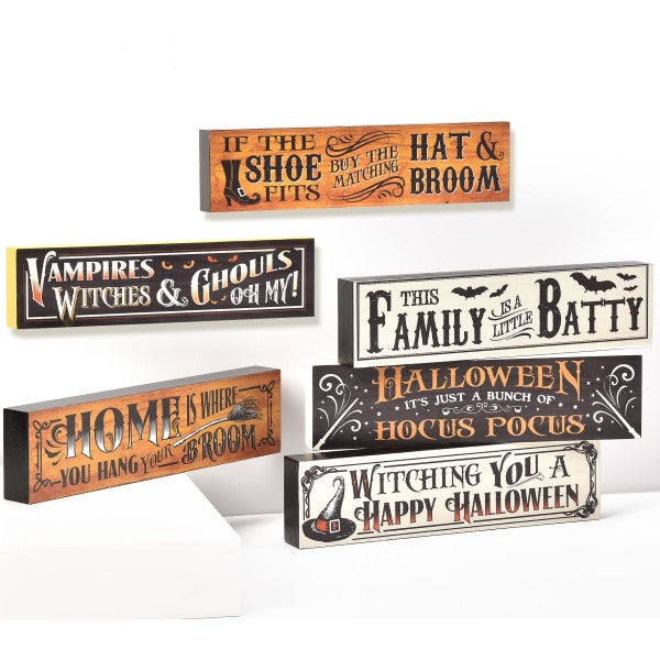 Halloween Desk Blocks