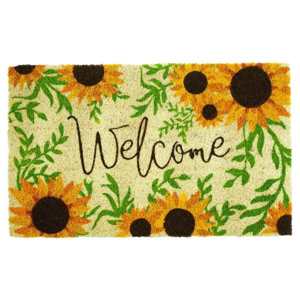 Doormat Sunflowers